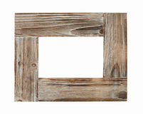Wooden frame for painting or picture Royalty Free Stock Images
