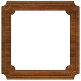 Wooden Frame (Path Included) Stock Images