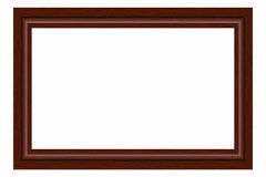 Wooden frame. For photographs or paintings Royalty Free Stock Photography