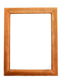 Wooden frame for photography Royalty Free Stock Photo