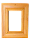 Wooden frame for photography Royalty Free Stock Photos
