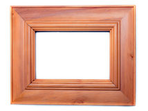 Wooden frame for photography Royalty Free Stock Photography