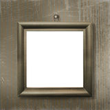Wooden frame for picture or photo Stock Photos