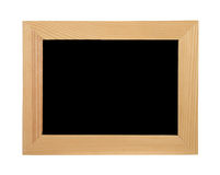 Wooden frame for a picture. Royalty Free Stock Photo