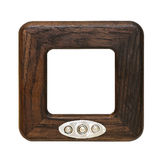 Wooden frame Royalty Free Stock Photo