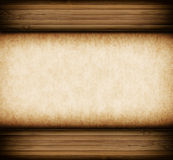 Wooden frame with text space Royalty Free Stock Images