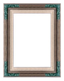 Wooden frame of traditional handycraft Royalty Free Stock Image