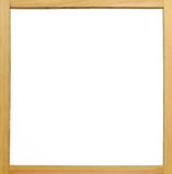 Wooden frame white board Royalty Free Stock Photography