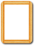 Wooden frame whiteboard Stock Photos