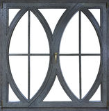 Wooden frame windows with glass royalty free stock photography