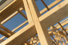 Wooden Frame Work Royalty Free Stock Photography