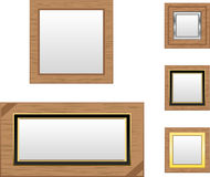 Wooden Frames Royalty Free Stock Image