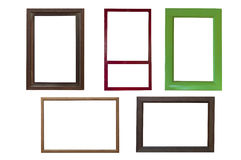Wooden frames Royalty Free Stock Photo