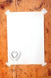 Wooden frames  heart Royalty Free Stock Photos