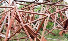 Wooden frames Royalty Free Stock Photos