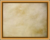 Wooden frames with parchment background Stock Photos