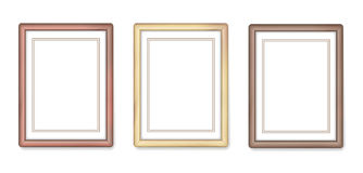 Wooden frames Stock Photos