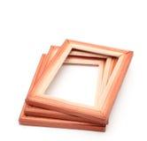 Wooden frames Stock Images