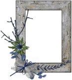Wooden framework Stock Image