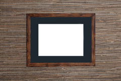 Wooden framework. For a photo Royalty Free Stock Photos