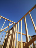 Wooden framework. Royalty Free Stock Photography