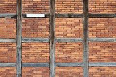 Wooden framework front Stock Images