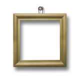 Wooden framework for portraiture Royalty Free Stock Image