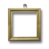Wooden framework for portraiture royalty free stock image