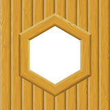 Wooden Framework on a Wall Stock Photos
