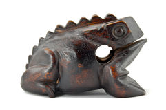 Wooden frog Royalty Free Stock Image