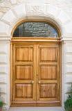 Wooden frontdoor. Stock Photography