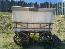 84-Wooden furgon zdjęcia stock