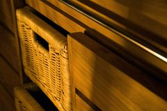 Wooden furniture Stock Image