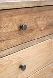 Wooden furniture detail Stock Photo