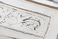 Wooden furniture Shabby chic style Royalty Free Stock Photos