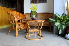 Wooden Furnitures Stock Photography