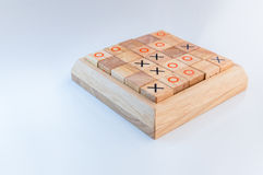 Wooden games for education and intelligence development Royalty Free Stock Images