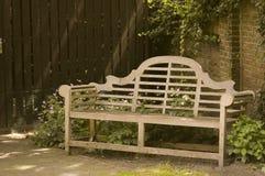 Wooden Garden Bench Stock Image