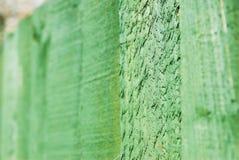 Wooden Garden Fence Stock Image