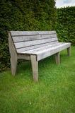 Wooden Garden Seat Stock Photography