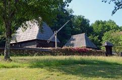 Wooden garden Transylvania Stock Image