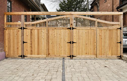 Free Wooden Gate Royalty Free Stock Photos - 19076768