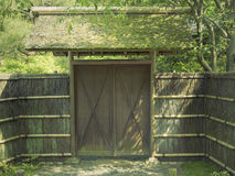 Wooden Gate Stock Images