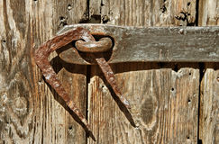Wooden gate. Stock Photography