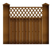 A wooden gate Stock Photos