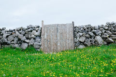 Wooden Gate, Ireland Stock Photography