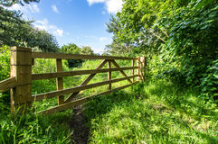 Wooden Gate Royalty Free Stock Photography