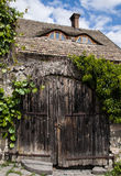 Wooden gate in Szentendre Royalty Free Stock Photo