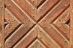 Wooden gate texture Stock Photography