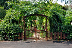Wooden gate Royalty Free Stock Photo